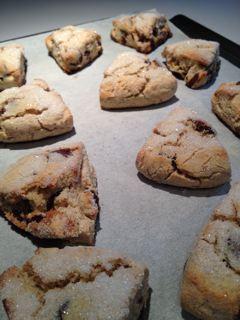 Gluten Free Chocolate AlmondScones