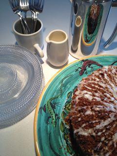 Gluten-free Sour Cream CoffeeCake