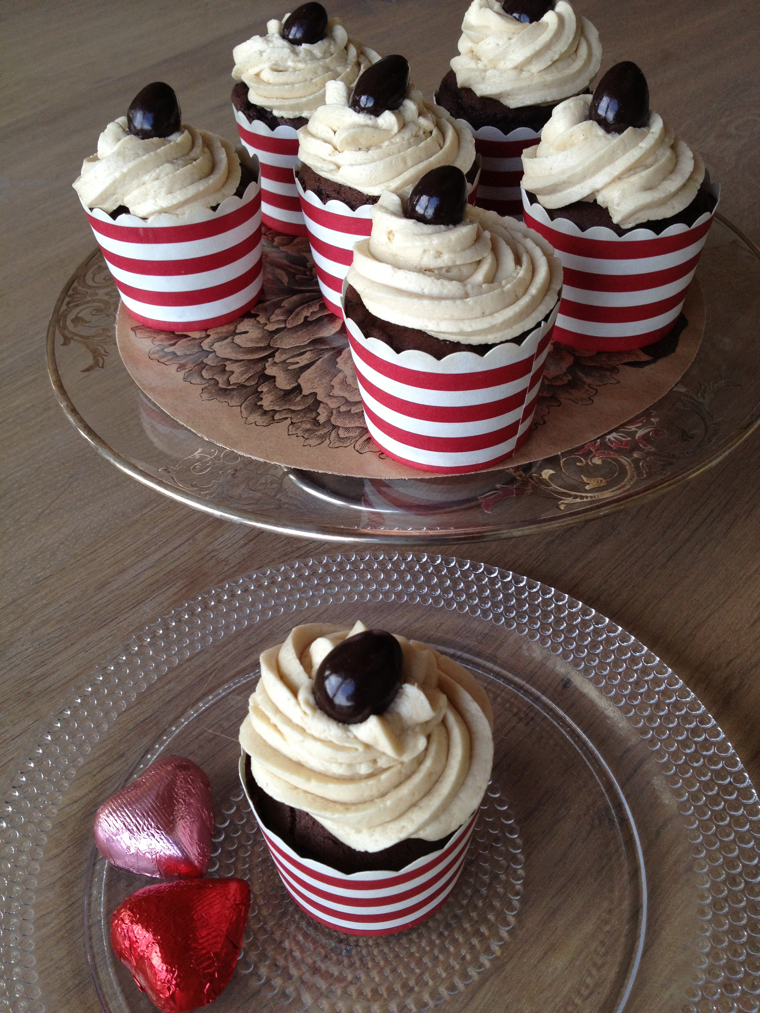 Chocolate Cupcakes with Espresso Buttercream Icing   Gluten Free Gus