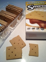 "faux ""graham crackers"" - returned 'em"