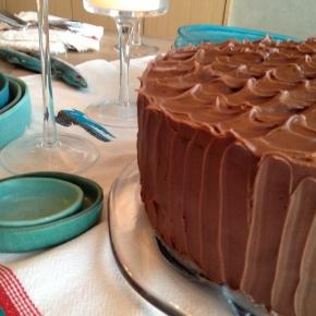 Gluten-free Chocolate Peanut ButterCake