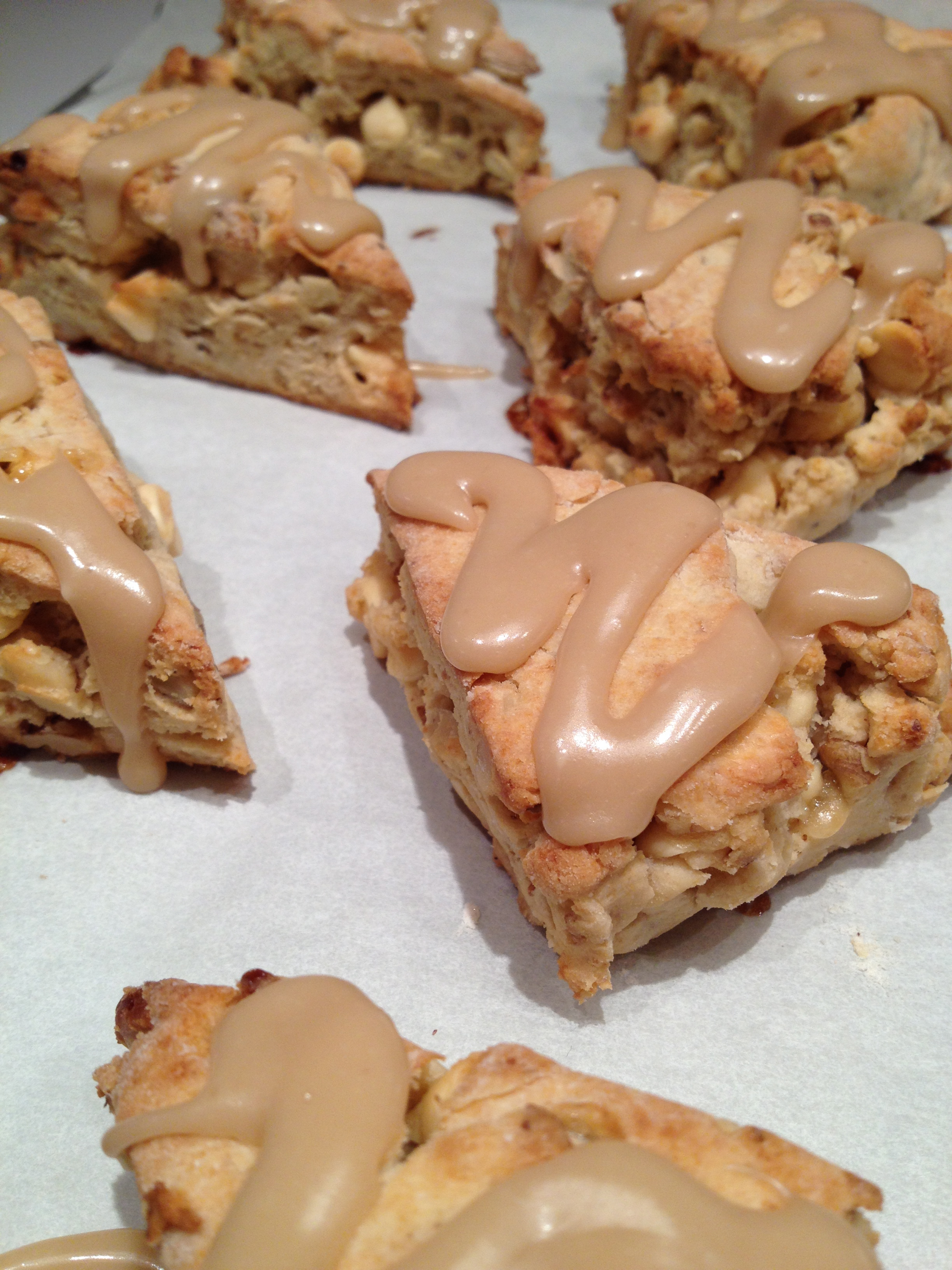 Maple Nut and Pear Scones pics