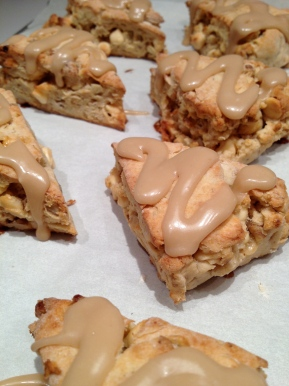 Gluten-free Maple Walnut Scones