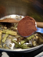 Adding the Garam Masala