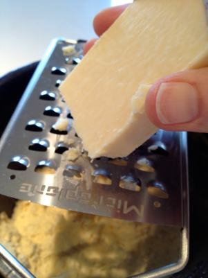 Grating in the special Cheddar