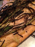 Rosemary sprigs protected the fish