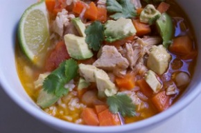 Mexican Chicken Soup for a Malady