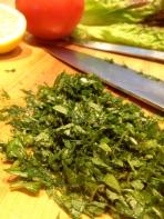 Minced herbs