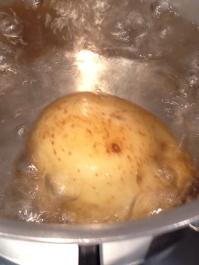 Boiling the botato
