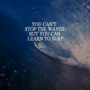 Monday Mantra: surfing