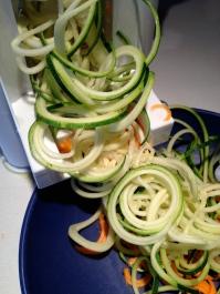 ... and zucchini