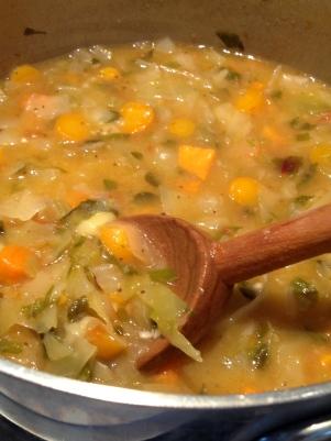 Friendship Soup, ready to serve!