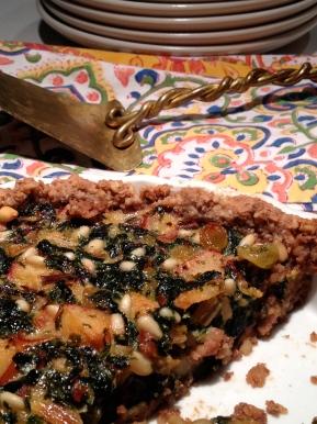 Gluten Free Tarte Provencale:Dessert!