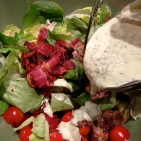 BLT Salad – one of summer's best!
