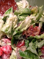 Beautiful BLT Salad!