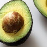 Perfectly ripe avocado