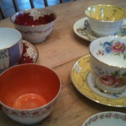 Auntie Helen's Tea Cups - not this time