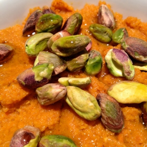 Moroccan Spiced Carrot Dip
