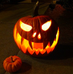 And yes, carve one for October 31st!