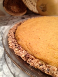 GF Pumpkin Pie with Fig Newton Crust