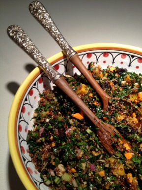 Quinoa Salad with Roasted Pumpkin for Fall