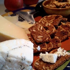 Cheese and Pumpkin Crisps