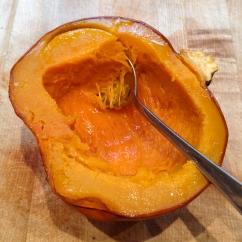 Fresh baked pumpkin infinitely better than canned