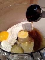 Making the cream cheese layer