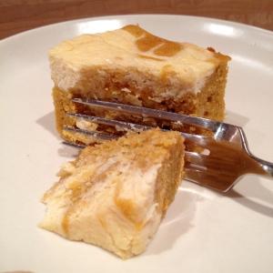 Pumpkin Cream Cheese Brownie