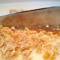 Diced candied ginger