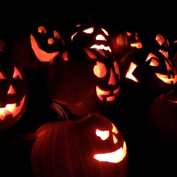 Jack-o-lanterns ready for the 31st