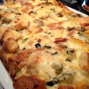 Zucchini Cheese Strata