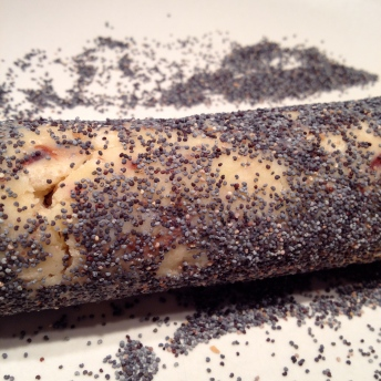 Roll in poppy seeds if you like