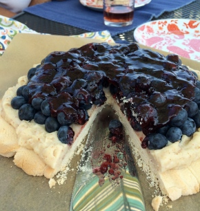 Gluten Free Fresh Blueberry Tart
