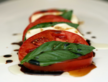 Caprese Salad on the side