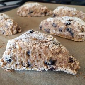 Gluten Free Vegan OatmealScones