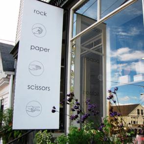 Rock Paper Scissors on Main Street