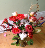 More creativity with local flowers