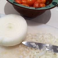 Minced onion