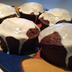 Gluten Free Dairy Free Gingerbread Cakes