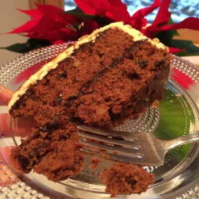 Gluten Free Winter Holiday Apple Cake