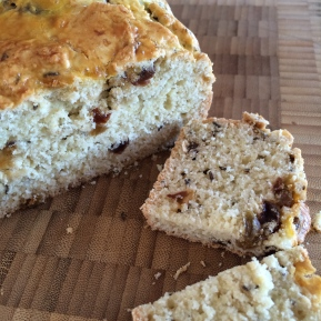 "Gluten Free ""Rum Soaked Raisin"" Irish Soda Bread"