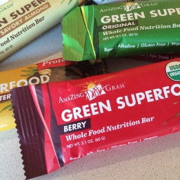 Green Super Food Bars