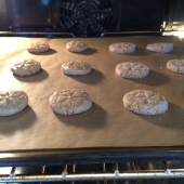 Into the oven