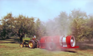 A cell from CoopSverige's short video on the use of pesticides