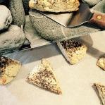 Plating the scones